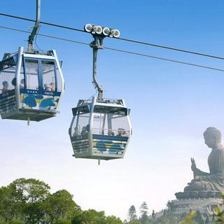 홍콩 옹핑 360 케이블카 편도/왕복 티켓 - 클룩 전용 라인