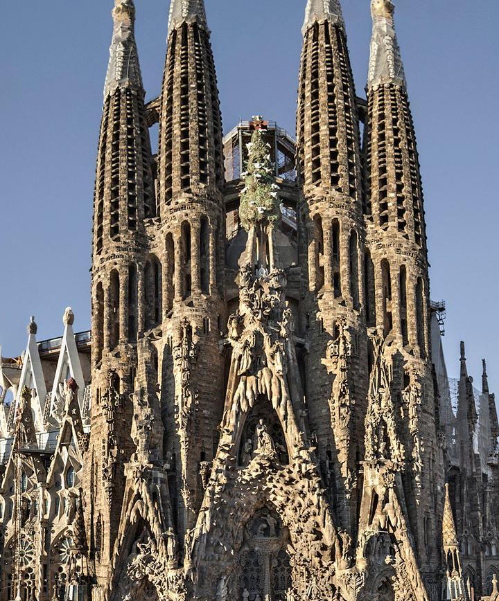 바르셀로나에서 가우디 건축물 찾아보기