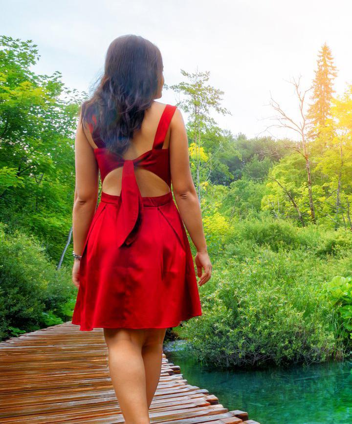 요정들의 숲 크로아티아 '플리트비체 국립공원'에서 산책하기