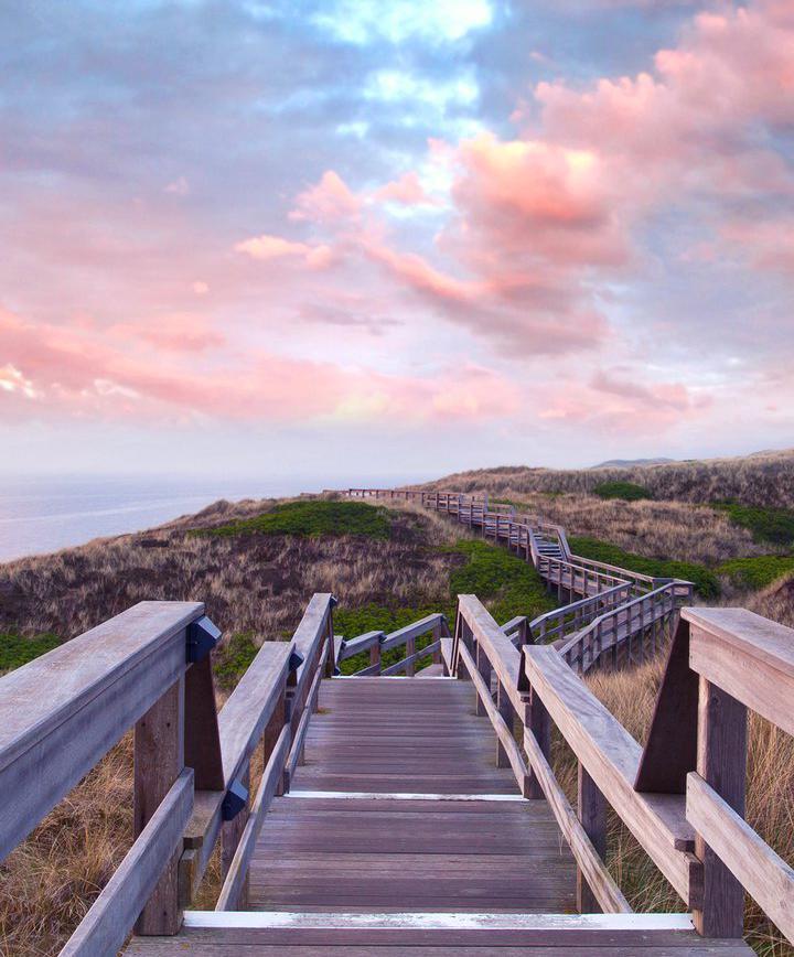 여행_독일 최북단 섬에서 쏟아지는 은하수 아래  '천국으로 가는 계단' 오르기  이미지