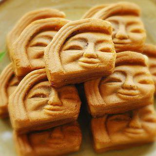 경주에서 신라의 미소를 담은  빵 맛보기