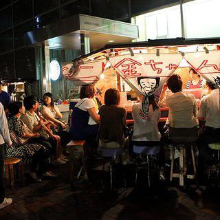 후쿠오카의 명물, 현지 포장마차 '코킨짱' 즐기기
