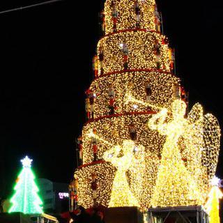불빛 일렁이는 청계천의 밤, 크리스마스 거리 축제 즐기기