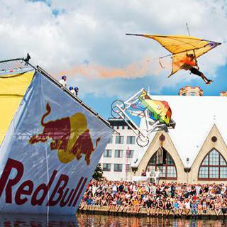 '레드 불 Flugtag 대회'에서 내가 만든 비행기로 하늘 날아보기