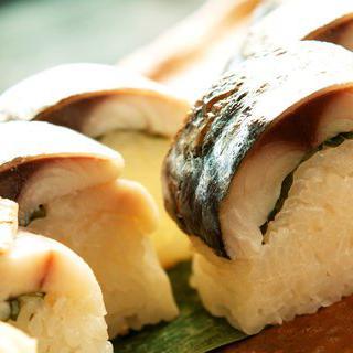 교토에서 고등어 초밥 먹어보기