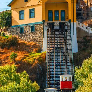 천국의 골짜기 발파라이소에서 '아센소르' 타보기