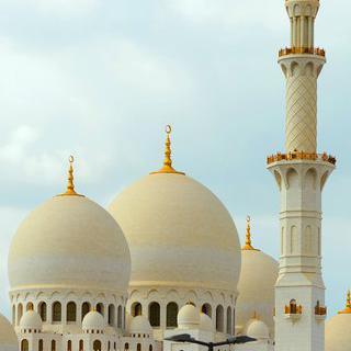 이슬람 건축 예술이 빛나는 도시, '아부다비'에서 순백의 그랜드 모스크 감상하기