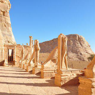 이집트 남쪽 태양의 도시 '아스완'에서 신전 탐방하기