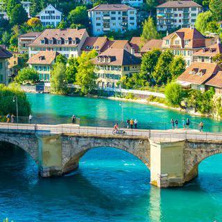 오랜 역사의 원형, 스위스 '베른'에서 구시가지 산책하기