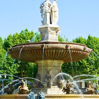 물의 도시 '엑상프로방스'에서 역사적인 구시가지 둘러보기