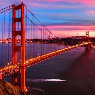 샌프란시스코 랜드마크, 금문교의 뷰포인트에서 사진 남기기