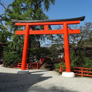 오랜 전통을 간직한 '가모미오야 신사'에서 산책하기