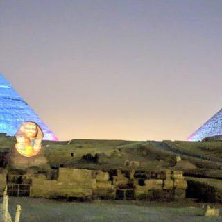 이집트의 찬란한 고대 유적, '기자 네크로폴리스'에서 낙타 타보기