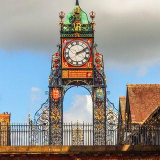견고한 요새 도시, 영국 '체스터'에서 유적지 돌아보기