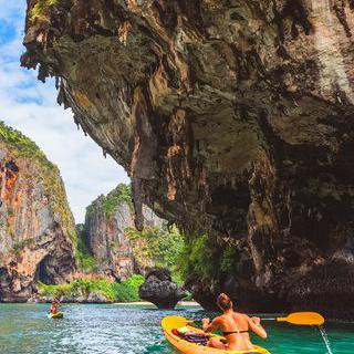 태국의 숨은 진주 '끄라비'에서 자연을 만끽하는 액티비티 즐기기