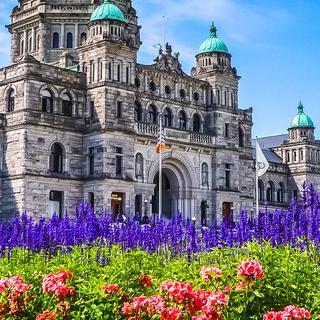 아름다운 정원의 도시, 캐나다 '빅토리아'에서 산책하기