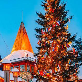 겨울 여행의 백미, 설원이 내려앉은 '로바니에미' 산타 마을 방문하기
