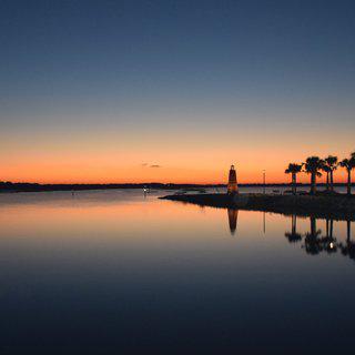 플로리다주 '키시미'의 한적한 공원에서 쉬어가기