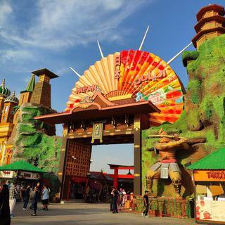 지구의 모든 도시가 한 곳에, Global Village,Dubai 쇼핑 투어