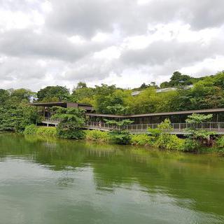 세계적인 강들을 만나볼 수 있는 '리버 사파리'에서 보트 타기