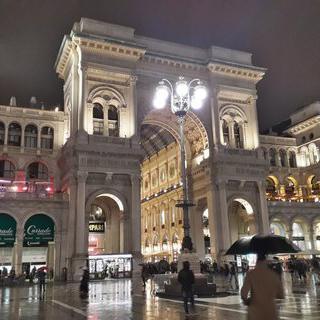 건물부터 명품인 밀라노 백화점, 비토리오 에마누엘레 2세 갤러리아