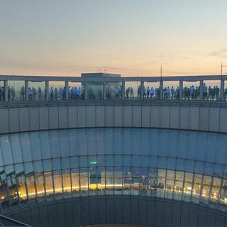 화려하게 피어나는 오사카의 야경 보기, 우메다 공중정원