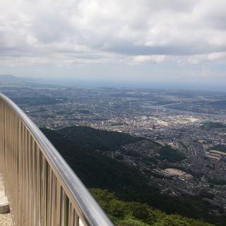 일본 3대 야경 명소, 아름다운 '사라쿠라산 전망대'에서 케이블카 타기