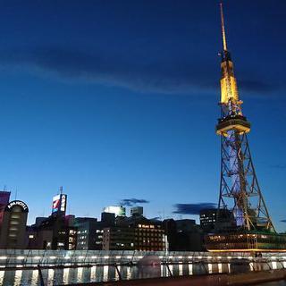 일본 최초의 방송송신탑, '나고야 TV탑'에서 야경 감상하기