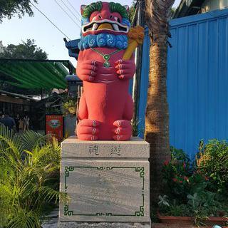 대만의 아늑한 옛 거리, '안평노가'에서 명물 새우과자 맛보기