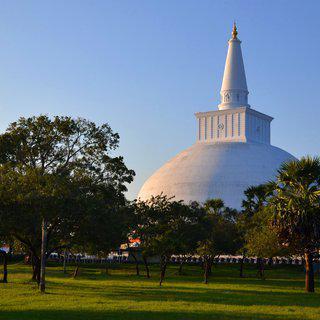 석가모니의 뼈가 안치된 불교 성지, '아누라다푸라' 사원 방문하기