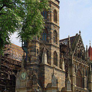 코시체 '성 엘리자베스 성당'에서 고딕 양식의 벽화 감상하기