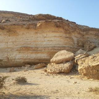 Wadi Degla Protectorate'에서 사막의 협곡 탐험하기