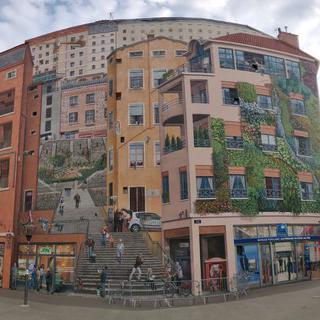도시와 예술의 환상적인 콜라보 리옹벽화마을 산책하기