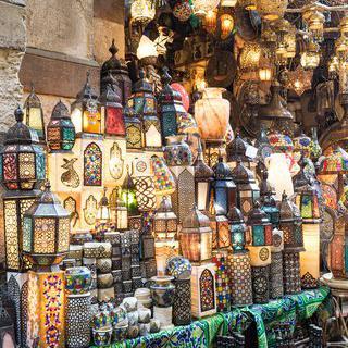 이집트의 만물상 '칸 엘 카릴리'에서 쇼핑하기
