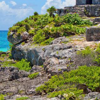 바다를 마주한 마야 문명, '툴룸 국립 공원'에서 기념일 여행하기