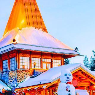 핀란드 '산타클로스 마을'에서 산타에게 편지 쓰기