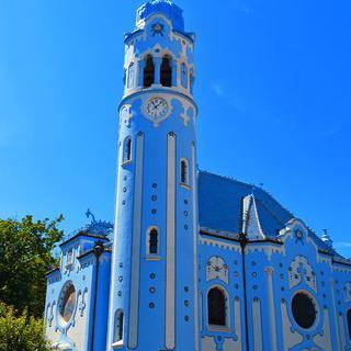 푸른빛의 신비로운 교회, 'The Blue Church' 사진 찍기
