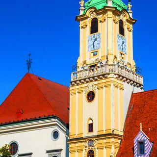 역사를 담은 전망대, '브라티슬라바'의 구시청사 관람하기