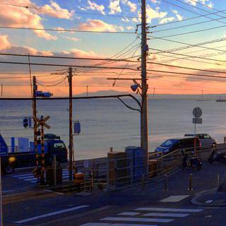 시간이 머물다 가는 승강장, '가마쿠라코코마에역'에서 사진 찍기