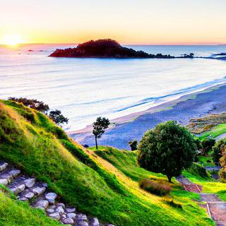 마음을 사로잡는 아침 햇살, '마웅가누이산'에서 일출 감상하기