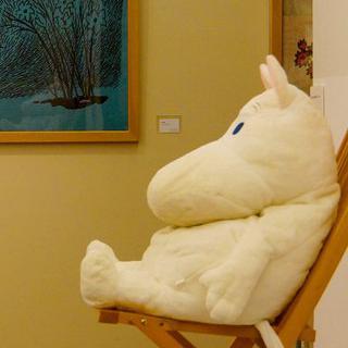 핀란드의 아이콘, 'Moomin Museum'에서 엽서 사기