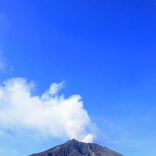 가고시마의 대자연, '아리무라 용암 전망대'에서 활화산 감상하기