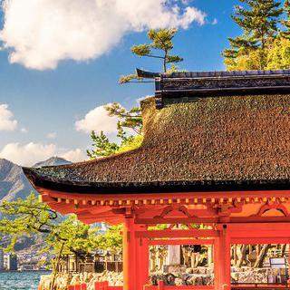 바다 위의 신전, '이쓰쿠시마 신사' 탐방하기