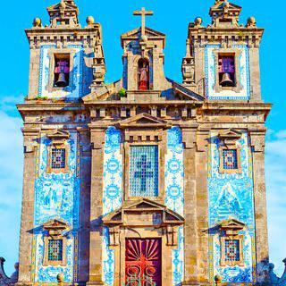 푸른 하늘을 담은 건축물, '산투 일드폰수 성당'에서 스냅 사진 찍기