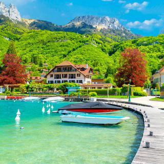 프랑스의 산중 호수, '아네씨 호'에서 힐링하기