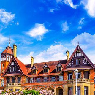 스페인 왕실의 여름 별장, 'Miramar Palace'에서 풍경 감상하기