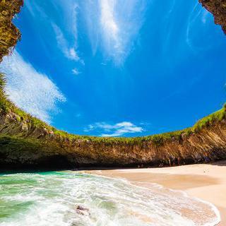 자연 휴양 무인도, '마리에타 섬'에서 동굴 수영하기