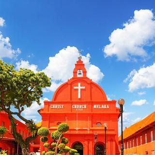 네덜란드 광장의 성소, 'Christ Church Melaka' 감상하기