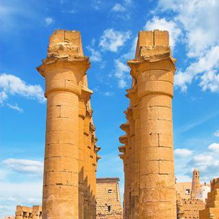 고대 이집트의 성전, '룩소르 신전' 관람하기