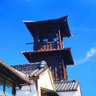 사백 년 역사의 종루, '토키노카네'에서 종소리 감상하기